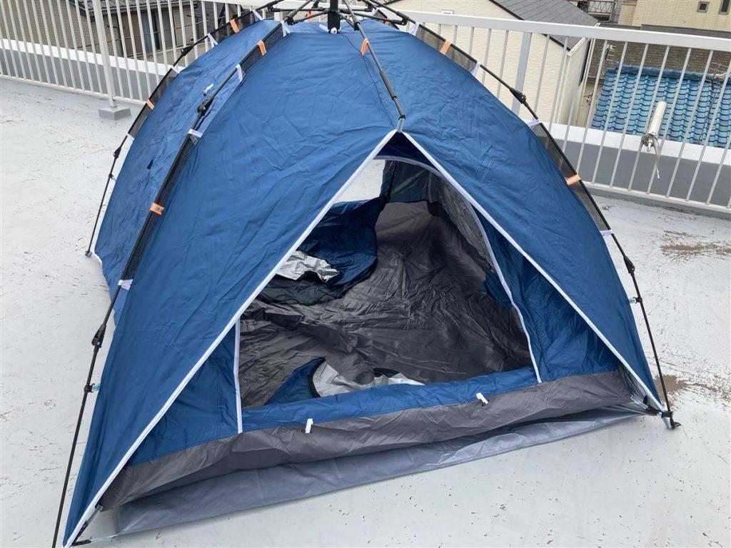 屋上キャンプはじめました